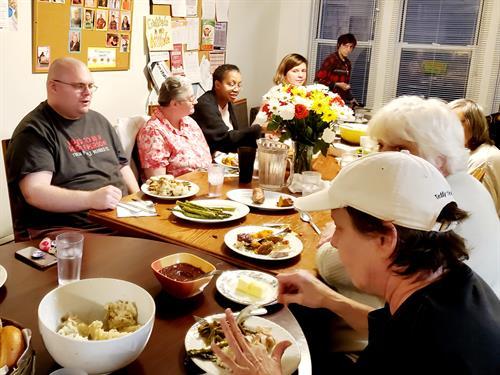 Thanksgiving at Pat Crowley House