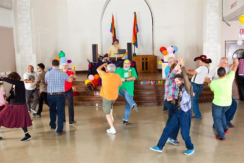 Dancing @ Ebenezer Social Hall