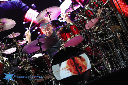 Live Music Photography - Neil Peart