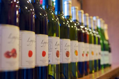 Featuring over 15 varieties of fruit wine.
