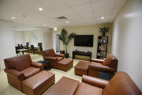 Andersonville Clinic Waiting Area
