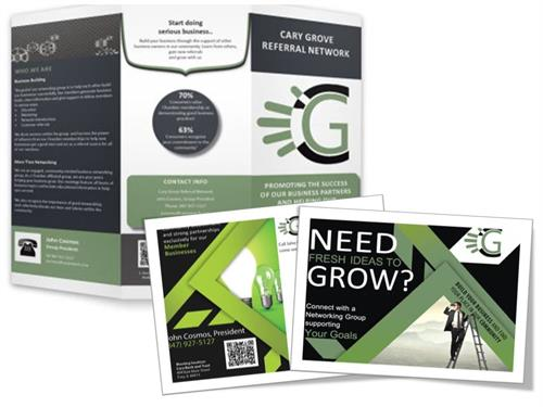 Graphic design and collateral brand package work