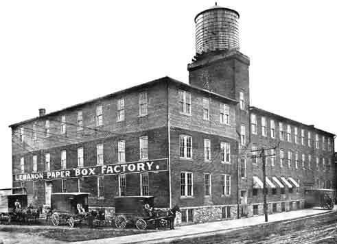 Lebanon, PA Factory circa 1910