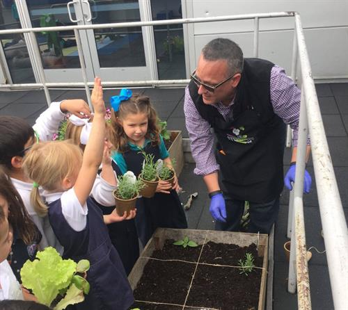 Educating and Motivating the Next Generation of Gardeners