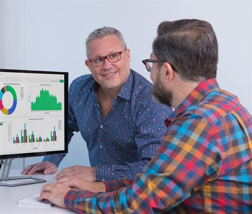 Jeff Armstrong and client, David Humphrey