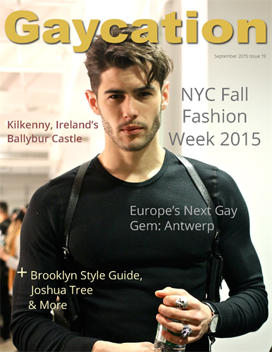 Cover of Gaycation magazine