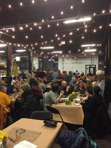 great turn out for a Trivia fundraiser I hosted for the Waldorf School.