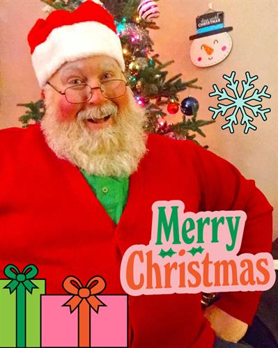 Looking for a special gift this holiday season? Order yourself a customized message from Santa. More information on my website and click on Santa Salutations.