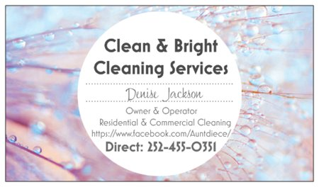 CLEAN & BRIGHT CLEANING SERVICES