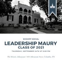 Leadership Maury Kickoff Social