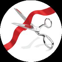 Ribbon Cutting for Ye Peddler Holiday Shoppe