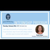 Westminster College Internship Program Webinar