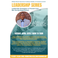 Leadership Series: Leadership Strategies to Prevent Civil War During Negotiations