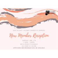 New Member Reception