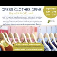 Dress Clothes Drive