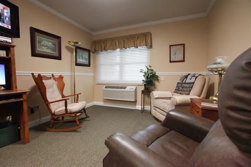 Assisted Living Apartment Living Room