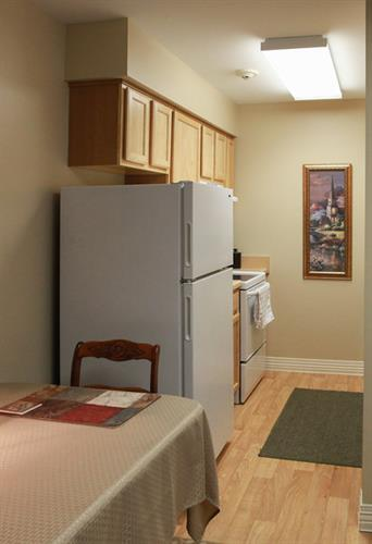 Independent Living Apartment Kitchen