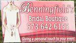 Benningfield's Bridal Boutique
