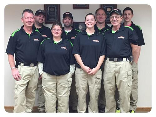 SERVPRO Production Staff New Uniforms