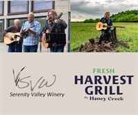 Live Music with Ray Cardwell & The Tennessee Moon Trio, and Fresh Harvest Grill