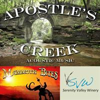 Live Music with Apostle's Creek and Mammoth Bites Food Truck