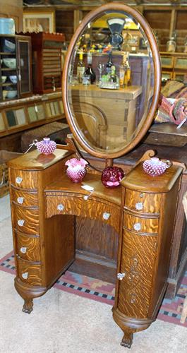 Beautiful Tiger Oak Vanity
