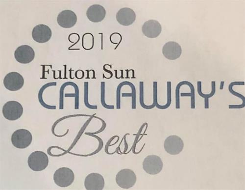 Voted Callaways Best Heating and Cooling company