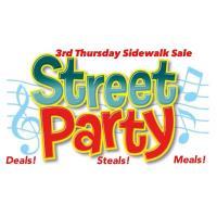 Third Thursday Sidewalk Sale