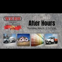 Business After Hours/Meet & Mingle Webb Concrete & Building Supplies