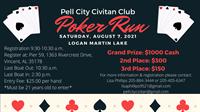 Pell City Civitan Club Poker Run
