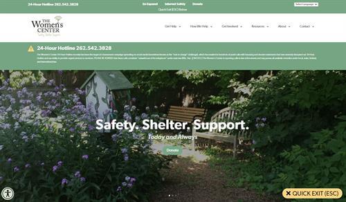 2021 The Women's Center Website Redesign