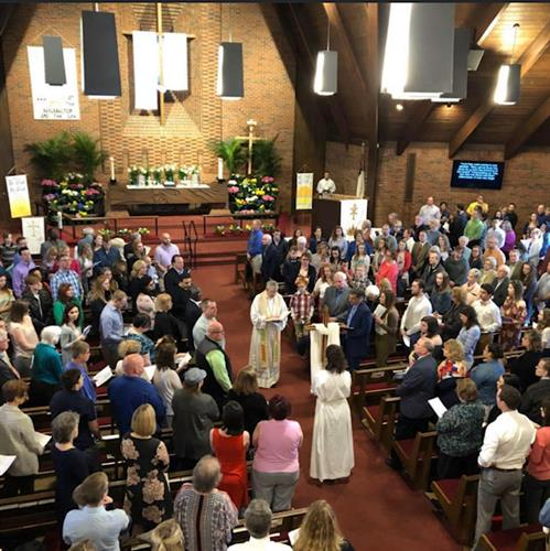 Easter worship 2019 (2020 was livestreamed due to Covid 19 mandate)
