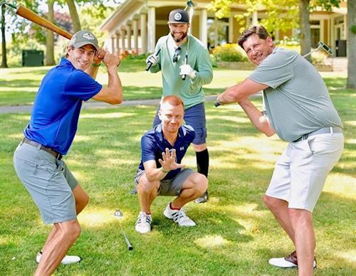 ORLC Golf Outing having fun