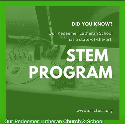STEM Programs at Our Redeemer create problem solvers and collaborative problem solvers.