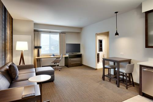 Residence Inn by Marriott Milwaukee Brookfield - One Bedroom Studio King
