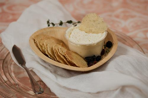 Homemade whipped cream and other delights??photo by Abby Miller Stories Framed Photography