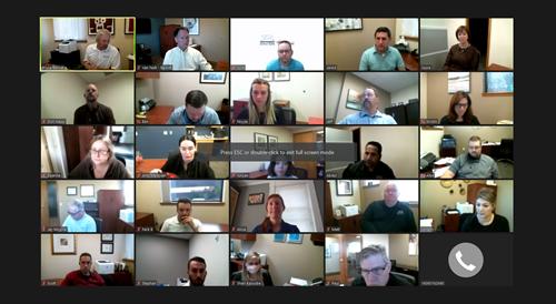2020 staff meeting