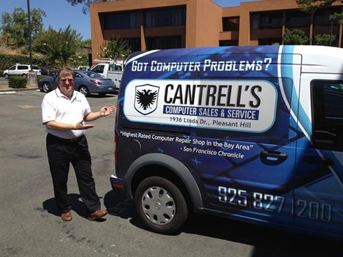 Cantrell's Computer Sales and Service Truck