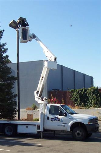 We Do Parking Lot Lighting Maintenance