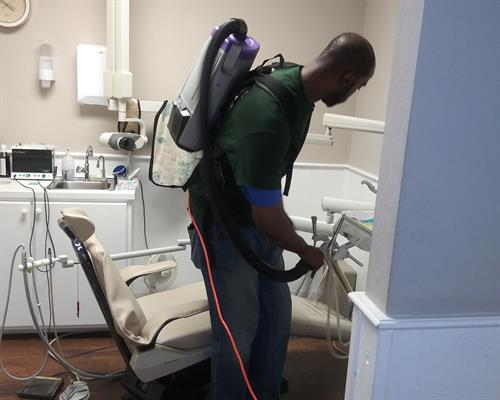 Cleaning of Patient Room