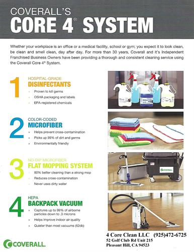 Core 4 Cleaning System