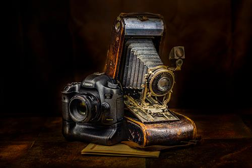 Old and New. I have a gallery of Still Life images for your home and office.