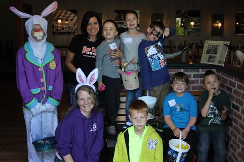 Easter Egg Hunt  Scavenger Hunt partnering with Slow Hand BBQ