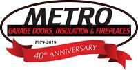 Metro Garage Doors, Insulation & Fireplaces, Inc.