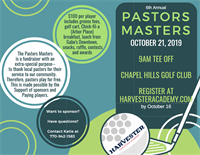 Pastors Masters Golf Tournament