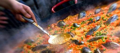 Chorizo & Seafood Paella