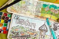 NBA&I - Travel Journaling with Watercolor and Ink