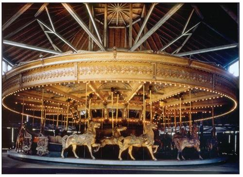 What our Carousel originally looked like.... and will again, someday