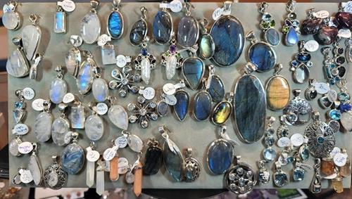 Rainbow Moonstone, Labradorite and many more choices
