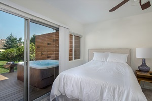 North Bend Downtown Suite with Private Hot Tub and Fenced in Yard